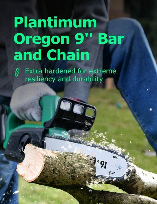 KIMO Cordless Auto Tension Professional Chainsaw Best Professional Chainsaw 2