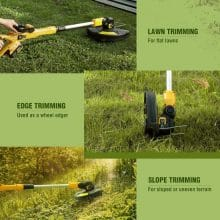 AchiForce 12 Inch Automatic Cordless Grass Stihl 2.0Ah Battery Trimmer Best Stihl Trimmer 2