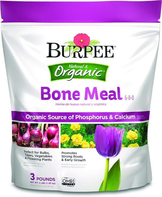 Burpee Bone Meal Organic Fertilizer for Carrots Best Fertilizer for Carrots