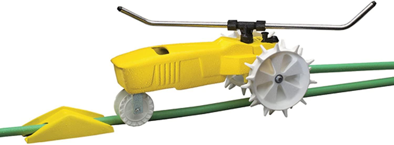 Nelson 13500 Sq. Ft. RainTrain Traveling Sprinkler Best Traveling Sprinkler