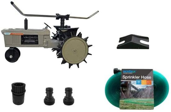 Watex WX44 Durable Traveling Sprinkler Best Traveling Sprinkler