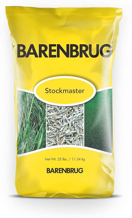 Barenbrug Stockmaster Grass Seed Premium Multi Purpose for Sandy Soil Best Grass Seed for Sandy Soil