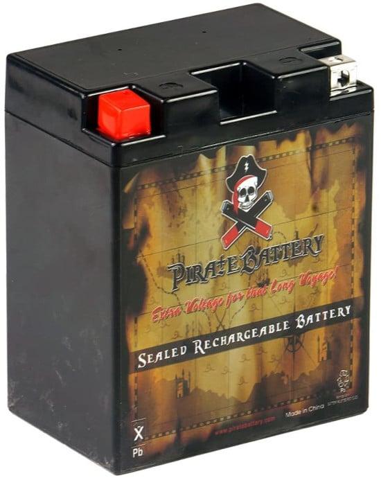 CB CHROMEBATTERY Pirate YB14A A2 Lawn Mower Battery Best Lawn Mower Battery