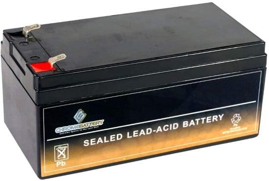 CB Chrome Battery SLA Replacement Lawn Mower 12V 3.2AH Battery Best Lawn Mower Battery