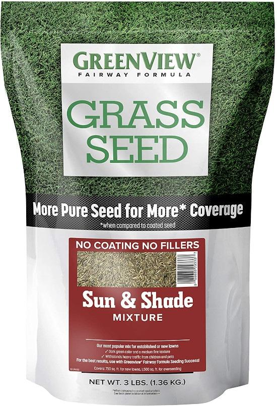 GreenView 2829336 Grass Seed for Sandy Soil Best Grass Seed for Sandy Soil