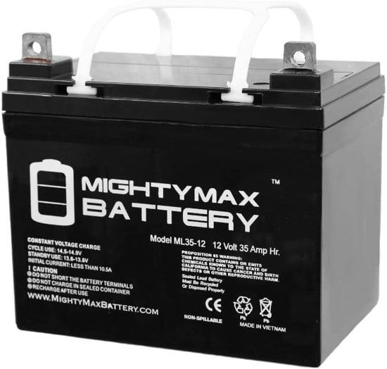 Mighty Max Battery 12V 35AH ML35 12 Lawn Mower Battery Best Lawn Mower Battery