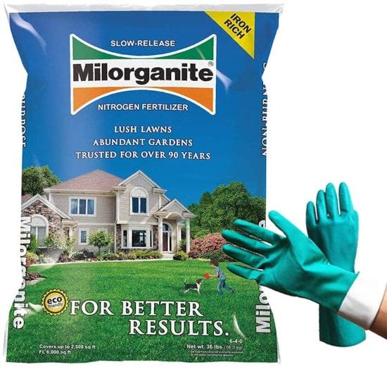 Milorganite Organic Nitrogen 0636 Fertilizer When To Use Milorganite