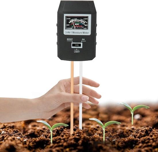 Mosthink Soil 3 in 1 pH Light Tester Best soil pH Tester Listing
