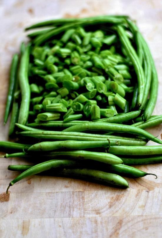 Pole Beans Tall Vegetable Plants