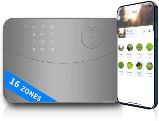 Rhino Storm Smart 16 Zone Sprinkler Controller Best Sprinkler Controller