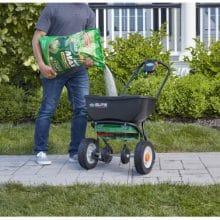 Scotts Green Max Iron Supplement Lawn Fertilizer When To Use Milorganite
