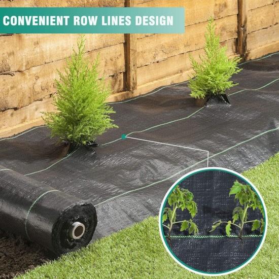 Snail 3ft x 100ft Heavy Duty Weed Barrier Best Weed Barrier 2