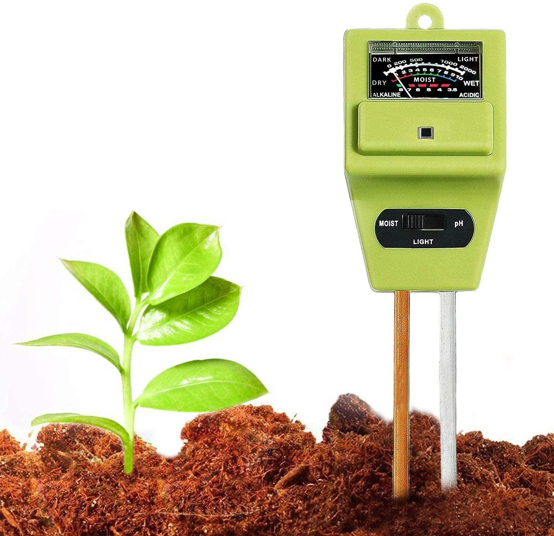Swiser Lightweight 3 in 1 Soil pH Tester Best soil pH Tester Listing