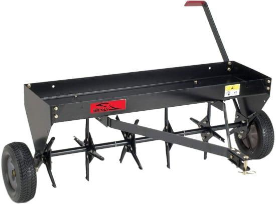 Brinly 40 Inch Tow Behind Plug Lawn PA 40BH Aerator Best Lawn Aerator