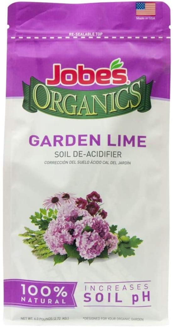 Jobes Organics Garden Lime Soil Amendment How To Raise Ph In Soil Fast