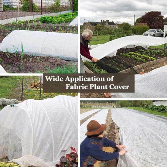 Valibe Plant Covers Freeze Protection How To Cover Plants For Frost