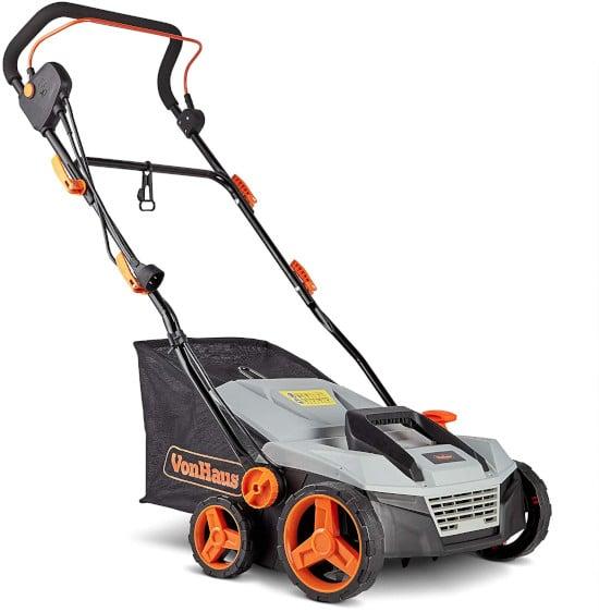 VonHaus Corded 15 2 in 1 12.5 Amp Lawn Aerator Best Lawn Aerator