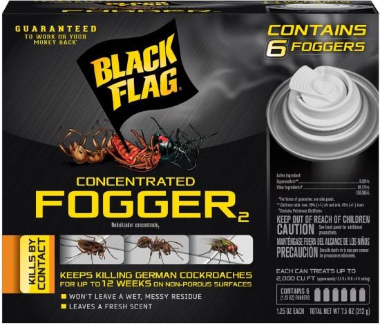 Black Flag 6 Count Indoor 11079 HG 11079 Flea Bombs Best Flea Bombs 2