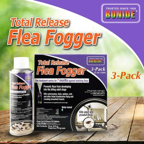 Bonide Chemical 685 119376 6 Ounce Total Release Flea Bomb Best Flea Bombs