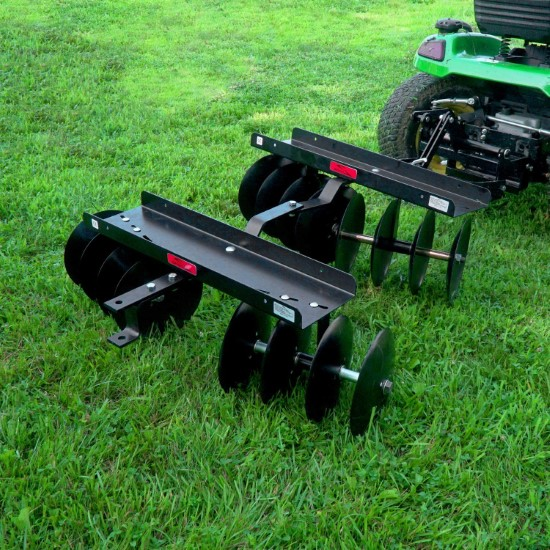 Brinly DD 55BH Sleeve Hitch Adjustable Tow Behind Disc Harrow What is a cultivator