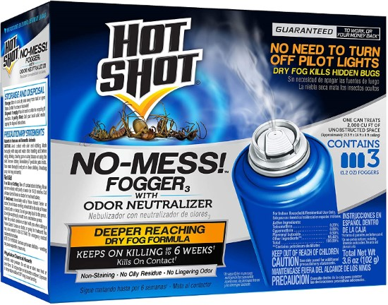 Hot Shot 100047495 3 1.2 Ounce HG 20177 Flea Bomb Best Flea Bombs