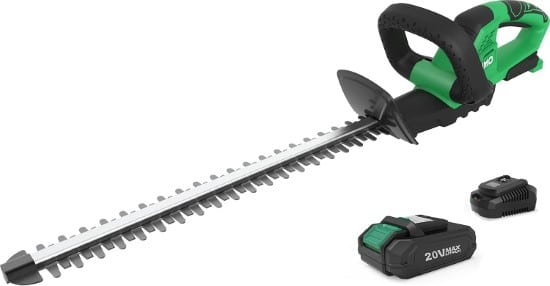 KIMO 20 Inch Dual Blade Electric 1400rpm Hedge Trimmer Best Electric Hedge Trimmer