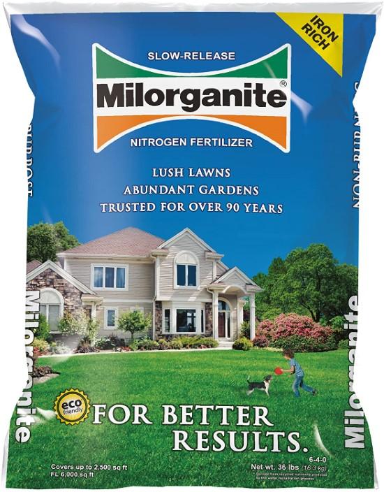Milorganite 0636 Organic Nitrogen Fertilizer When To Apply Milorganite