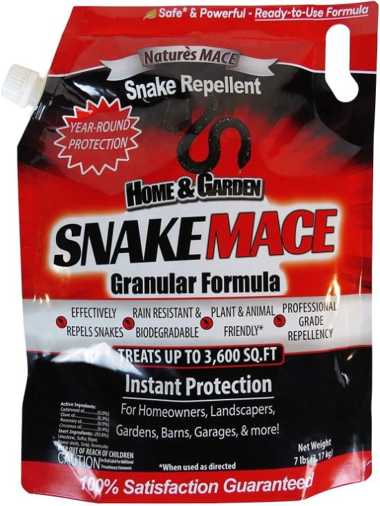 Natures MACE 7LB Safe to use Snake Repellent Best Snake Repellent