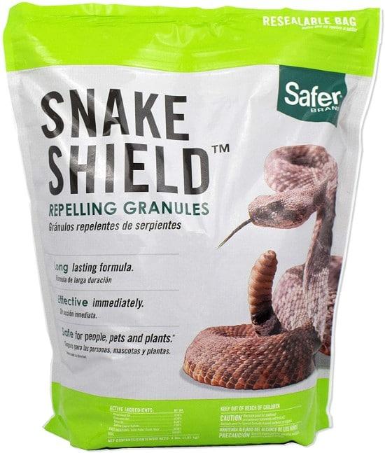 Safer Brand 5951 4 LB Snake Shield Repellent Best Snake Repellent