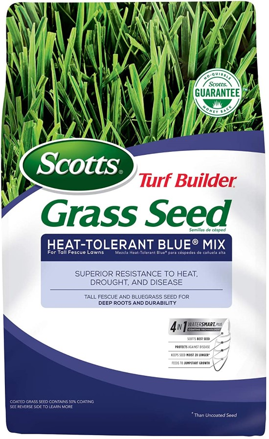 Scotts Turf Heat Tolerant Builder Grass Seed Best Grass Seed for Florida