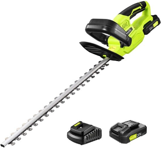 SnapFresh 1400RPM Dual Action Electric Hedge Trimmer Best Electric Hedge Trimmer