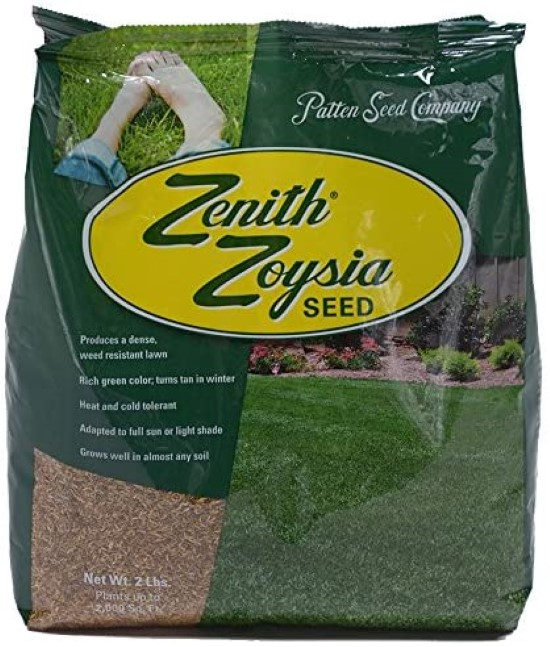 Zenith Zoysia 2 Lb Grass Seed Best Grass Seed for Florida