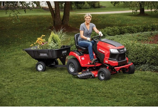 Craftsman E225 42 Inch Lithium Ion 56V Electric Riding Lawn Mower Best Electric Riding Lawn Mower 2