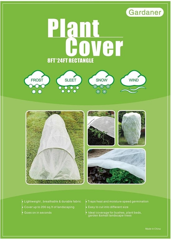 Gardaner Plant Covers Freeze Protection How To Protect Plants from Frost