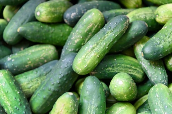 How to tell if a cucumber is ripe
