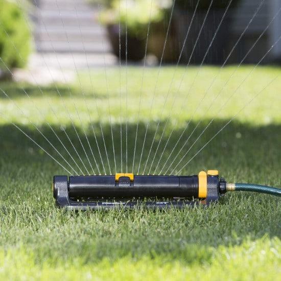Melnor 65078 AMZ XT Turbo Oscillating Sprinkler How Often To Water New Grass Seed