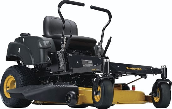 Poulan Pro 46 Inch 22HP P46ZX Briggs Stratton Electric Riding Lawn Mower Best Electric Riding Lawn Mower