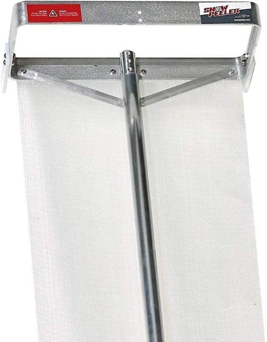 SNOWPEELER Aluminum Heavy Duty Roof Rake Best Roof Rake
