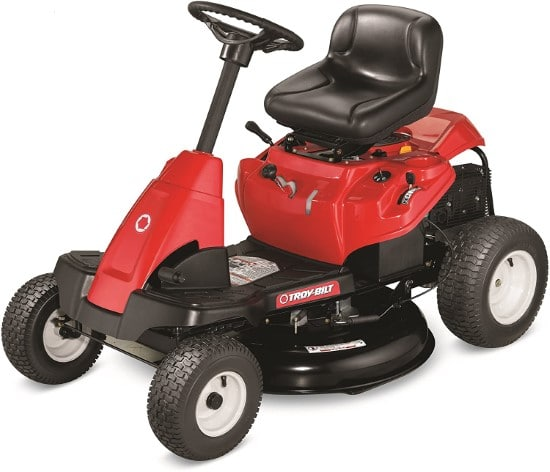 Troy Bilt 382cc 30 Inch Electric Riding Premium Lawn Mower Best Electric Riding Lawn Mower