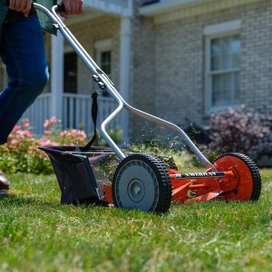 American Lawn Mower Company 1204 14 Reel Lawn Mower Best Lawn Mower for Small Gardens 2