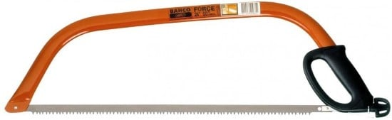Bahco 10 30 23 30 Inch Ergo Bow Saw Best Hand Saw for Cutting Logs 1