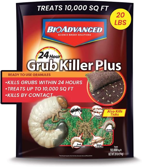 Bioadvanced Granules 700745S 24 Hour Grub Killer Plus Best Grub Worm Killers