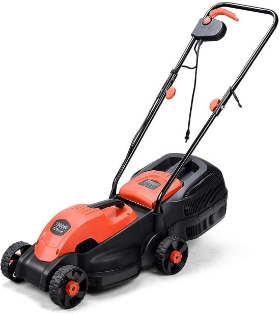 Goplus 14 Corded Electric Lawn Mower Best Lawn Mower for Small Gardens