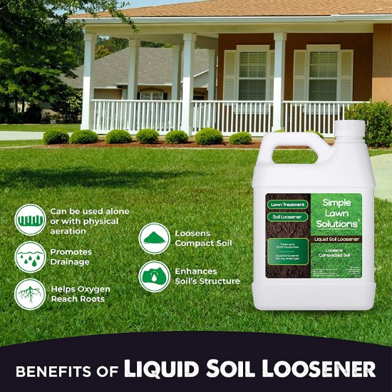 Liquid Aerating Soil Loosener Aerator Soil Conditioner What To Do When Grass Wont Grow Under Trees