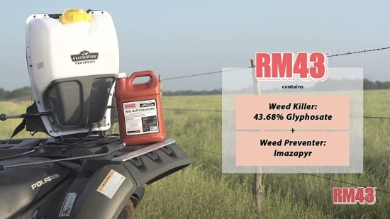 RM43 43 Percent Glyphosate Plus Weed Preventer What Do Herbicides Kill