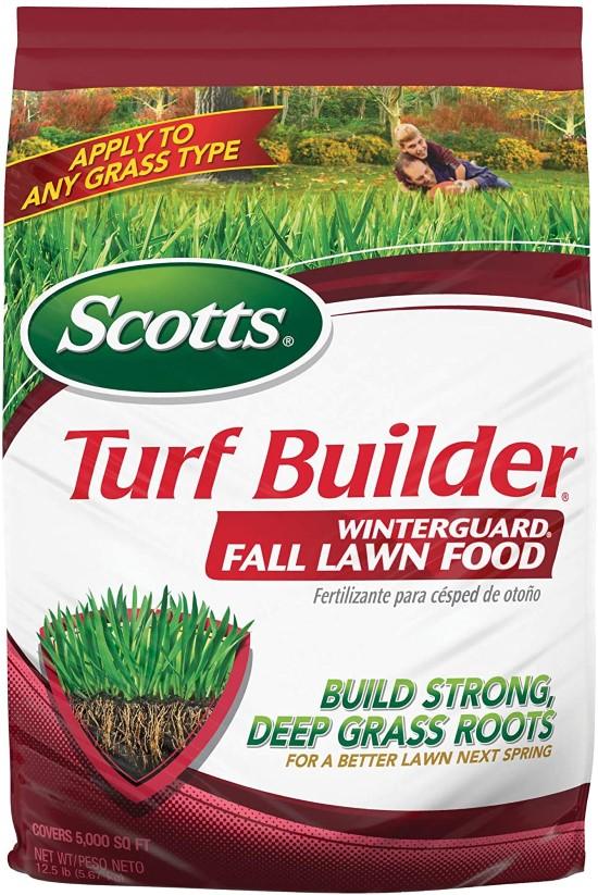 Scotts Turf Builder WinterGuard Fall Lawn Food When To Apply Winterizer Fertilizer 2